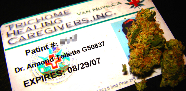 California Medical Marijuana Card