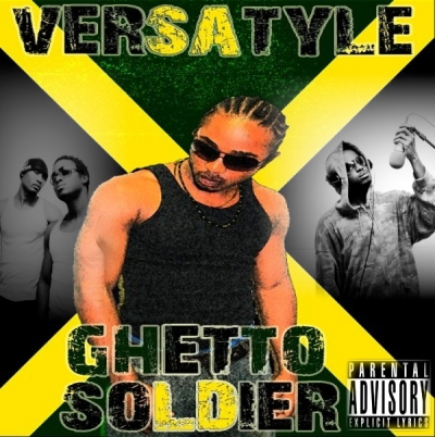 Front Cover Ghetto Soldier Album