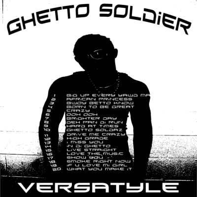 Back Cover Ghetto Soldier Cd
