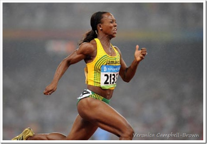 Veronica Campbell 200m